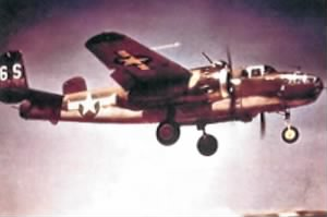 North American B-25J Mitchell Bomber of the 486th Bomb Squadron.jpg