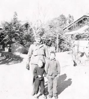 Guido Schroepfer in Japan during WWII