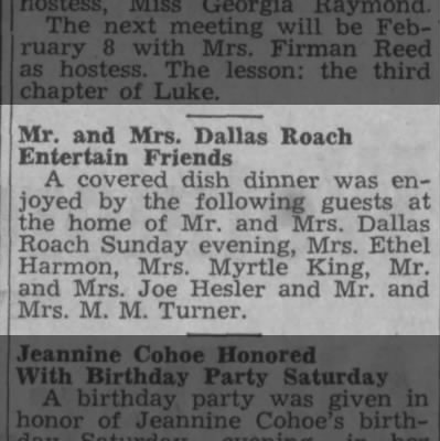 M.M. Turner -- Guests of Dallas Roach