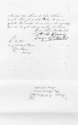 1863 Request for Surgical Instruments, page 2