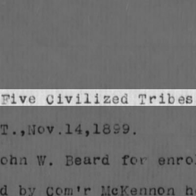 Five Civilian Tribes Questions