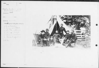 Mathew B Brady Collection of Civil War Photographs › B-9 Sheridan, Merrett, and Others. - Fold3.com