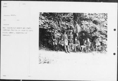 Mathew B Brady Collection of Civil War Photographs › B-47 Maj. Gen. Wesley Merrit and Staff. - Fold3.com