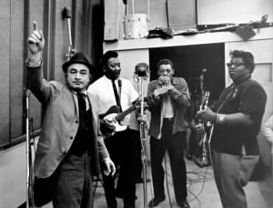 Phil Chess, Muddy Waters, Little Walter and Bo Diddley..jpg