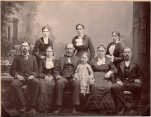 Thomas Boam and family, about 1882 in Utah