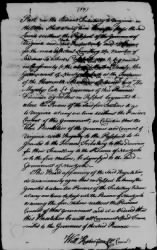 1 - Treaty between the Governors of New York, Virginia, and Pennsylvania and The Five Nations, August 14, 1722. › Page 2 - Fold3.com