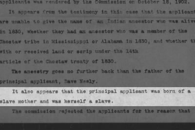 Sallie (Neely) Rush was born a slave