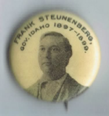 I am looking for this Frank Steunenberg pinback by Whitehead & Hoag. 1894, 1896, 1898 on the back.
